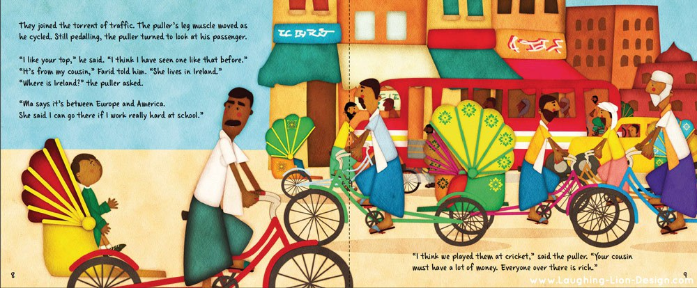 Farid's Rickshaw Ride Illustrated by Jennifer Farley