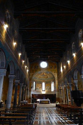 Interior of Chiusi Duomo