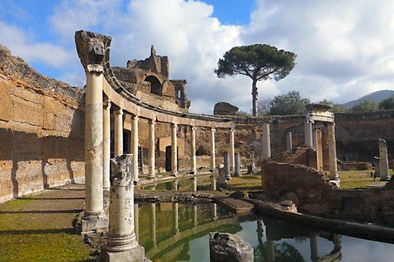 Hadrian's Villa Maritime Theater