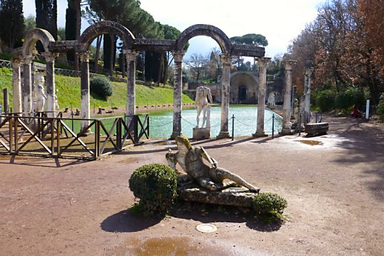 The Canopus at Hadrian's Villa
