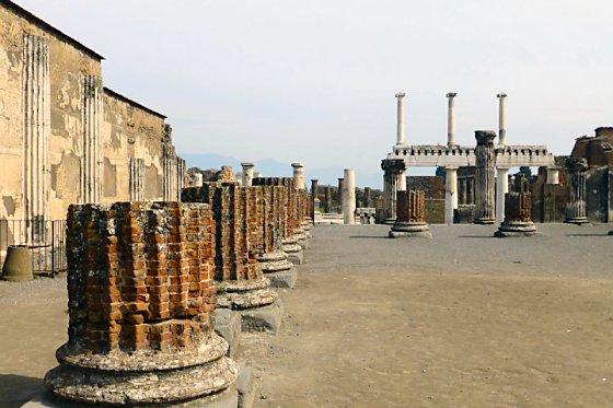 The Basilica in Pompeii