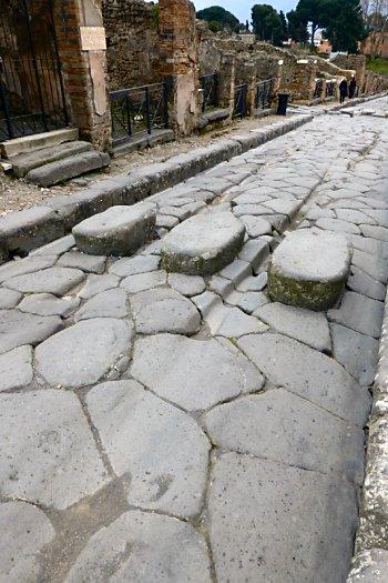 Wagon Ruts on Pompeii Road