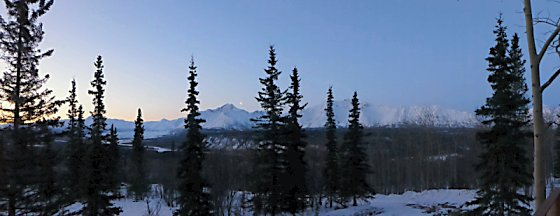 The Chugach Mountains