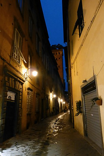 Via Santa Andrea in Lucca