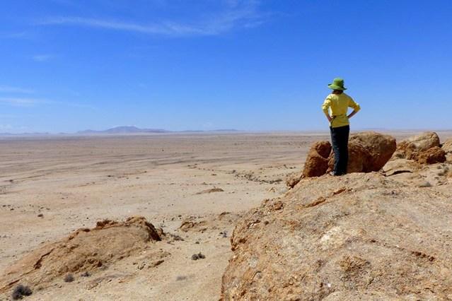 Namib-Naukluft desert overlook.