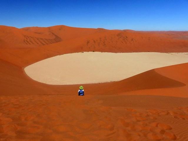 Big Daddy Slip-face Scramble, Namib-Naukluft National Park