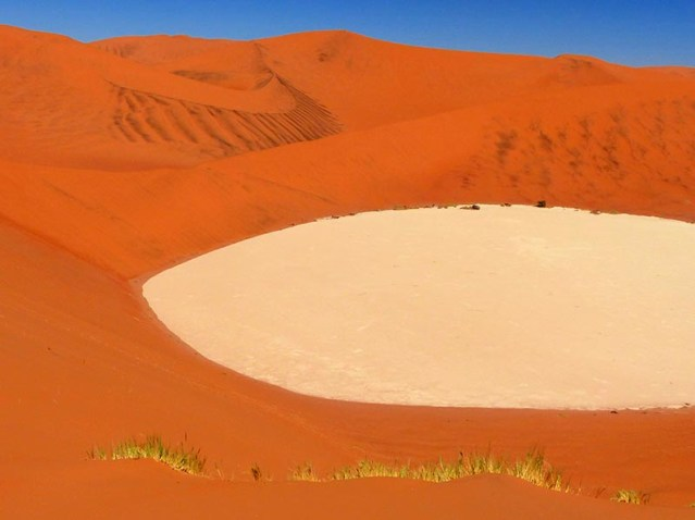 View of Dead Pan from Big Daddy, Namib-Naukluft National Park