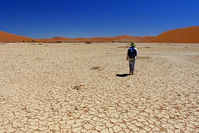 Salt and clay pan, Namib-Naukluft National Park