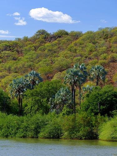Kunene River and Angola