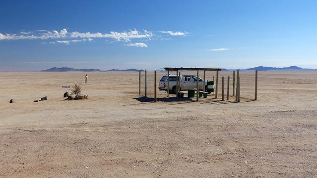 Rest area, Namibia