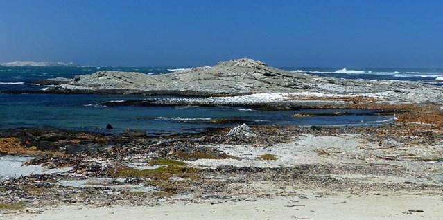The coast at Luderitz, Namibia