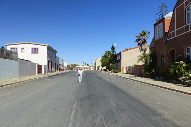 Sunday in Luderitz, Namibia