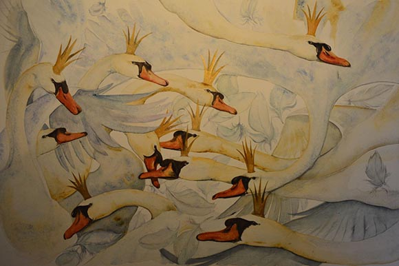 Eleven Swans, by Jackie Morris