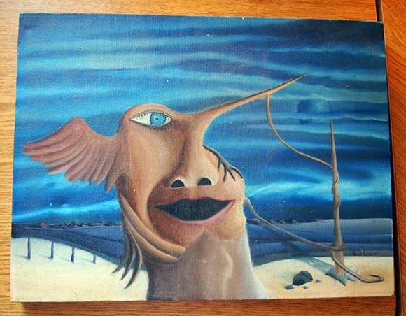 David Lubar painting