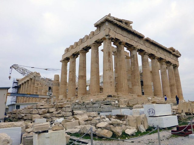 The Parthenon on the Acropolis - Jen Funk Weber