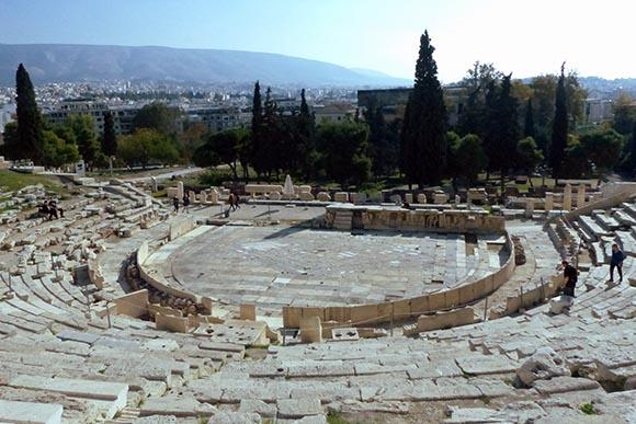 Theater of Dionysus - Jen Funk Weber