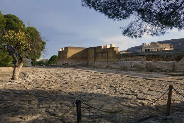 Knossos entrance, Crete