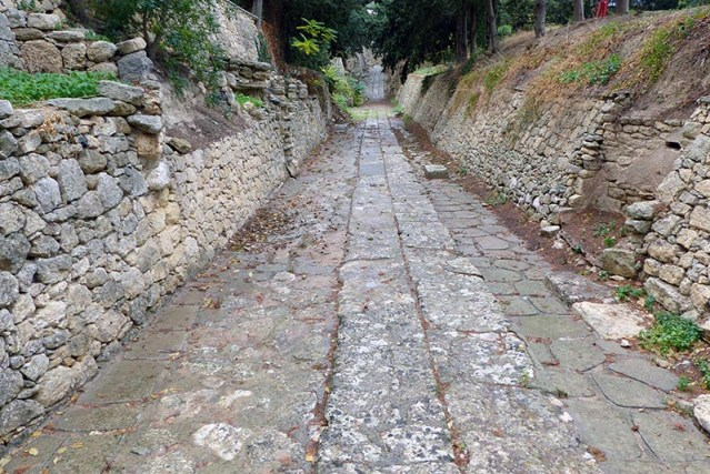 Royal road, Knossos, Crete, Greece - Jen Funk Weber