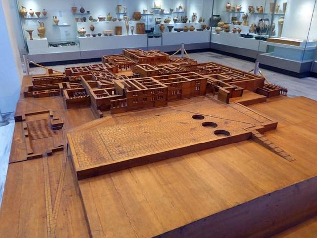 Wood Knossos Model, Heraklion Museum 01, Crete, Greece - Jen Funk Weber