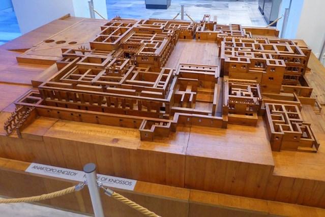 Wood Knossos Model, Heraklion Museum 02, Crete, Greece - Jen Funk Weber