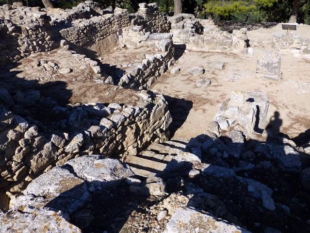 Stairs at Phaestos, Crete, Greece - Jen Funk Weber