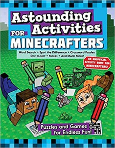 Puzzle book by Jen Funk Weber: Astounding Activities for Minecrafters