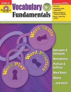 Vocabulary Fundamentals, Grade 6+, written by Jen Funk Weber