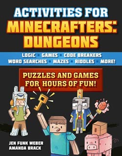 Minecraft Dungeons puzzle book