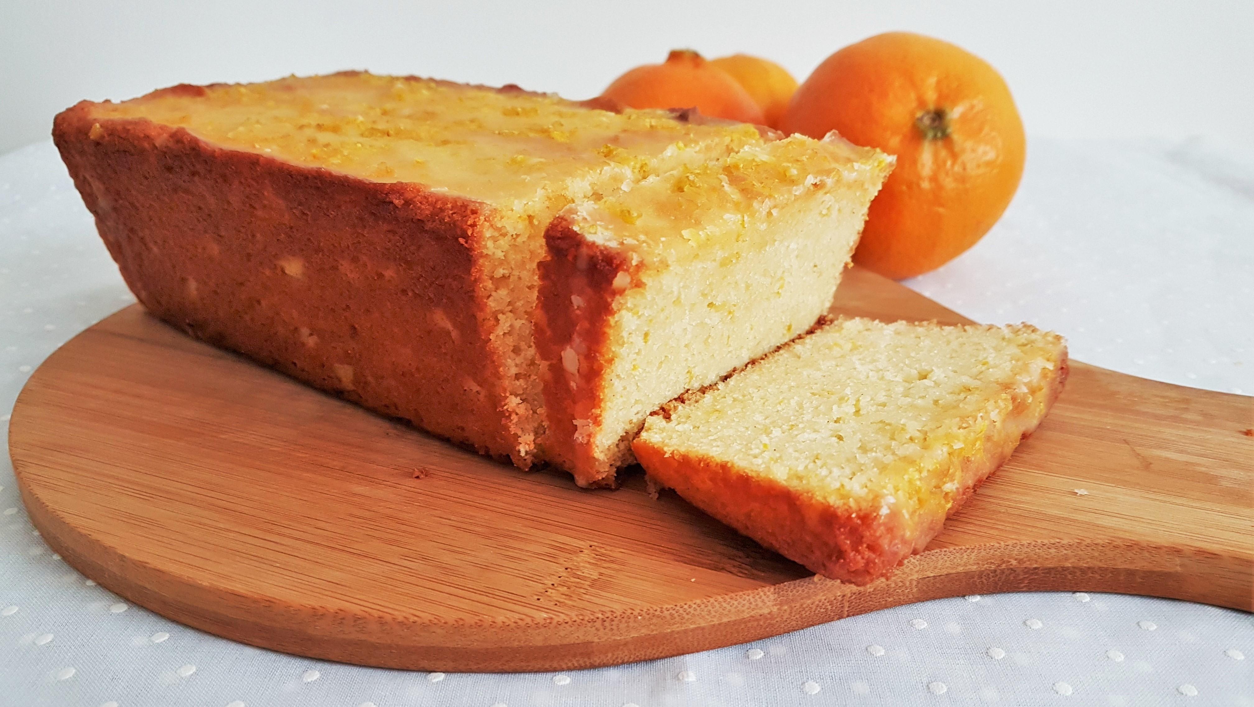 Panqué de mandarina