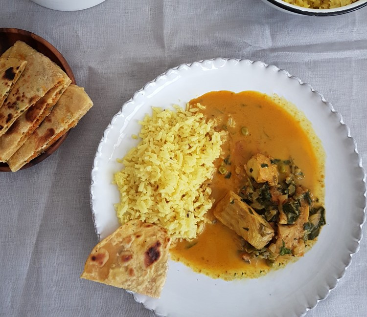 Curry de pescado