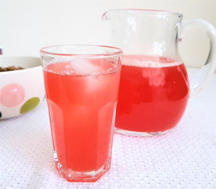 Limonada de cereza