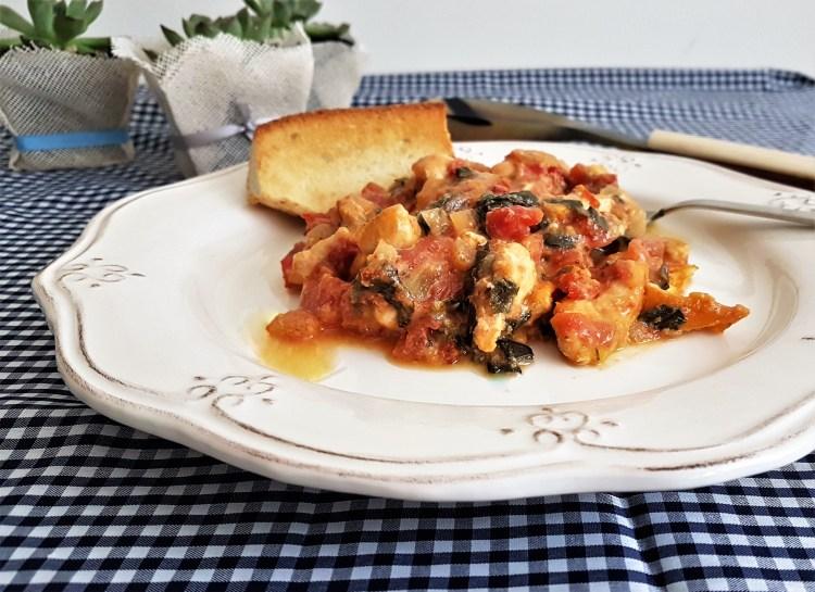 Pollo a la toscana/ Tuscan chicken