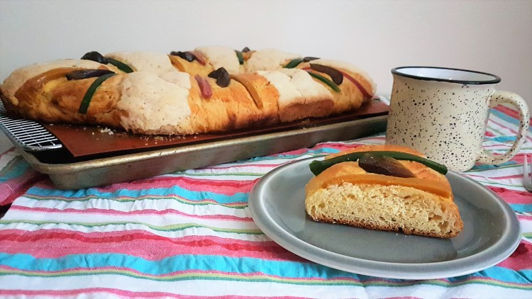 Rosca reyes/ Wise men bread