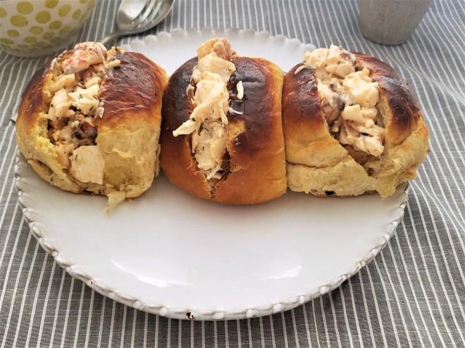 Sándwiches de ensalada de langosta
