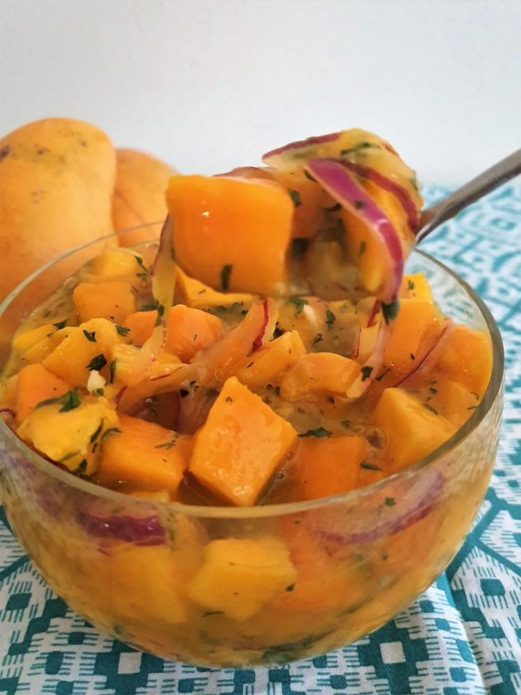 Ceviche de mango