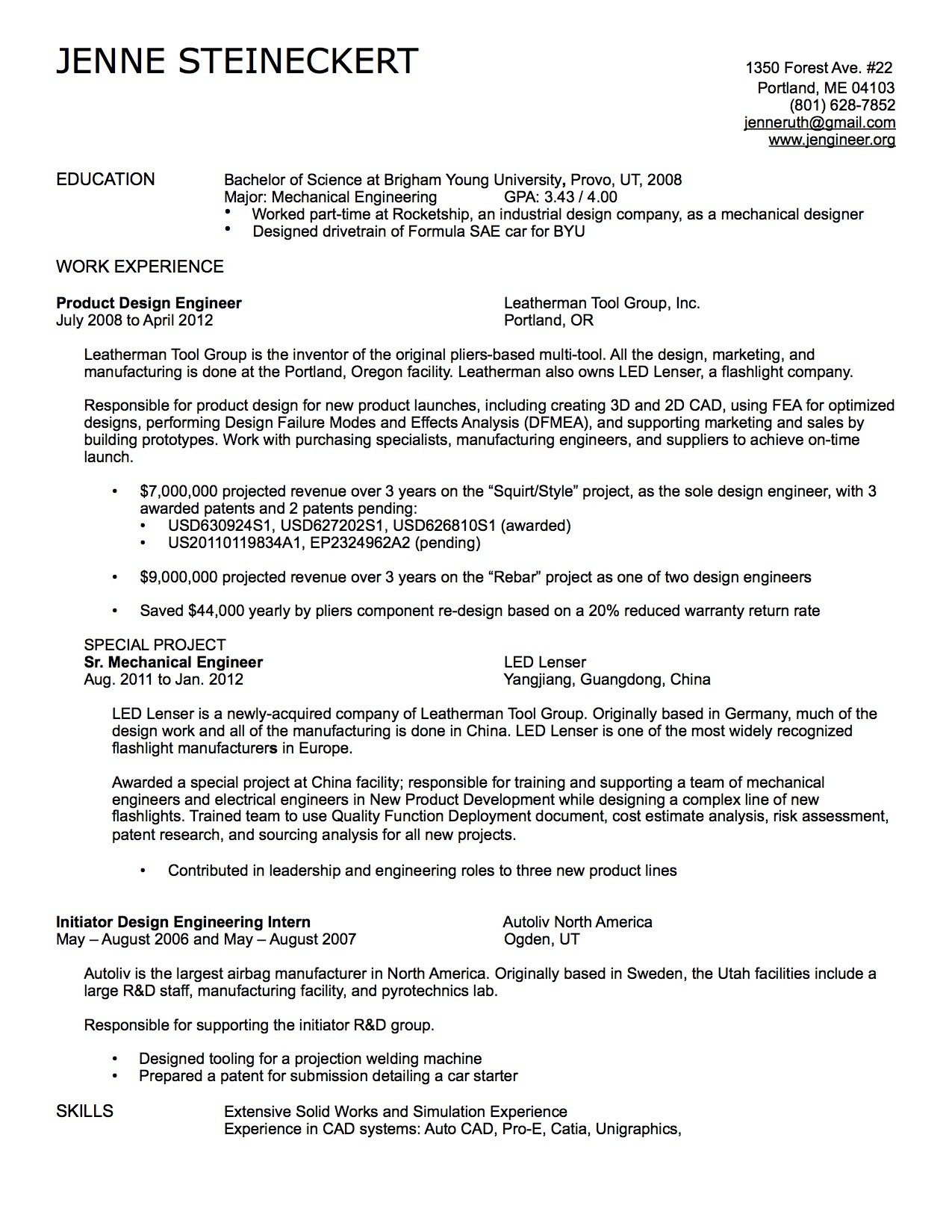 resume interests and activities resume skills and interests