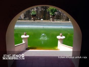 kolam khusus untuk raja