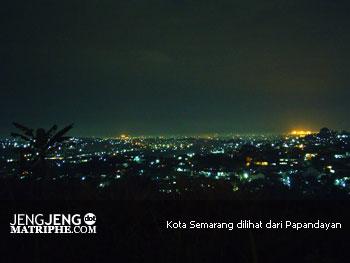 Kota Semarang dilihat dari Papandayan