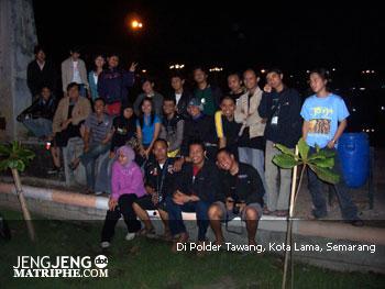 Di Polder Tawang, Kota Lama, Semarang