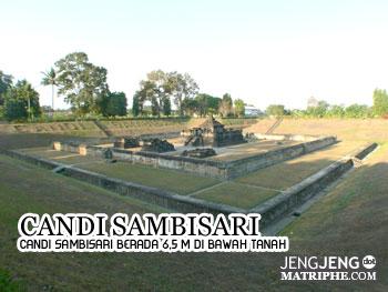 Candi Sambisari terletak 6,5 m di Bawah Tanah