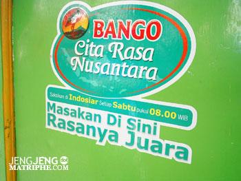 Stiker juara dari Bango Cita Rasa Nusantara