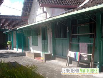 Rumah-rumah joglo di Gang Rukunan, Kotagede