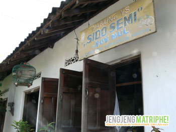 Warung Sido Semi, Kotagede