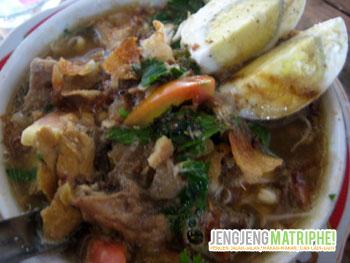 Hidangan Soto Djiancuk