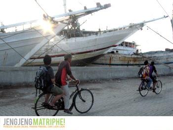 Bersepeda ke Sunda Kelapa