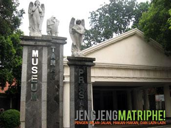 Gerbang Museum Taman Prasasti