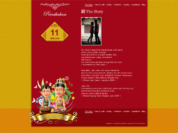 JanjiHati.com - The Wedding Page Fany & Yudis