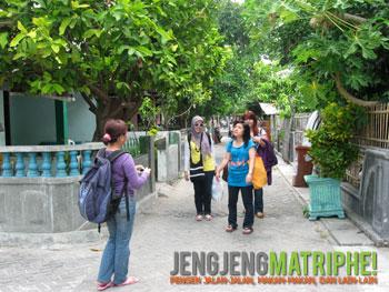 Suasana kampung di Pulau Tidung