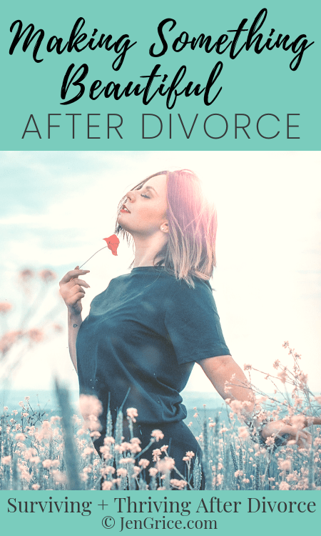 God is making something beautiful out of your divorce. If God has gutted your house, there is hope. He wants to make your house solid and more beautiful than before. Then He wants to come and live there! via @msjengrice