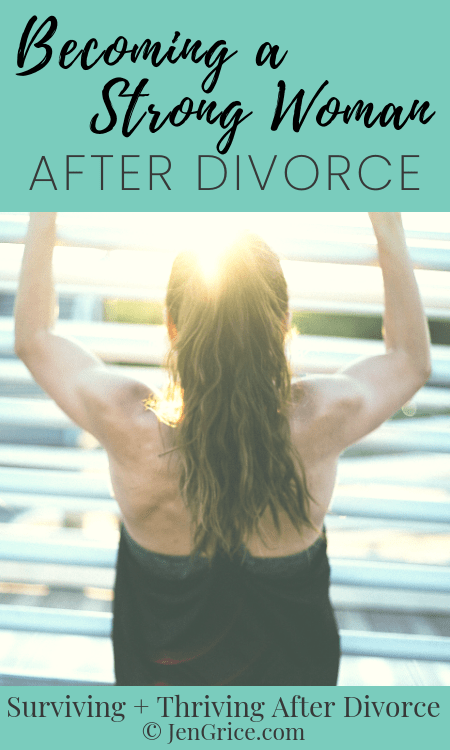 How can we thrive after divorce? First, we get emotionally healthy, then learn our own strength, and then don\'t put up with these 5 things. Become a strong woman after divorce!